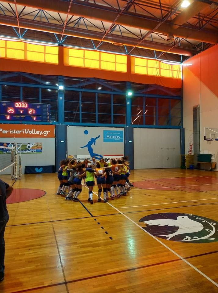 Φίλιο ντέρμπι, νίκη για όλο το Peristeri Volleyball School!